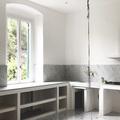 Cucina in muratura e marmo
