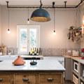 Cucina in stile industrial vintage