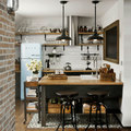 Cucina in stile vintage e industriale