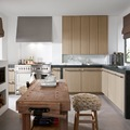 cucina mix rustico-moderno