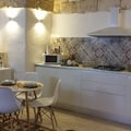 cucina Scavolini e tavolo rotondo