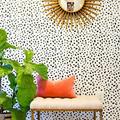 decorazione pareti stile animal print