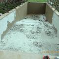 Demolizione rivestimento piscina sia dalle pareti che dalla pavimentazione