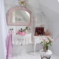 Piastrellare bagno - complementi rosa