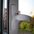 Dettaglio maniglia serramento alluminio