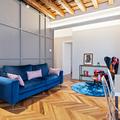 Ecclettico appartamento con terrazza