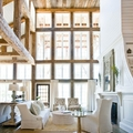 elementi in legno casa in campagna