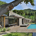 Esterno villa con piscina