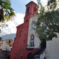 Facciata posteriore chiesa di Santa Maria del SS. Rosario in Castellammare di Stabia (NA) dopo il restauro