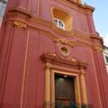 Facciata principale chiesa di Santa Maria del SS. Rosario in Castellammare di Stabia (NA) dopo il restauro
