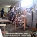 Fasi di sagomatura corrimano in legno a pezzo unico
