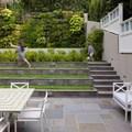 Giardino con terrazzamenti