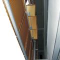 Il rivestimento visto dal basso (dall'interno)
