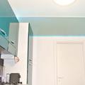 il tocco di luce sulla cucina