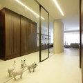 Ingresso con pareti a specchio