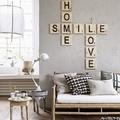 lettere decorative stile rustico