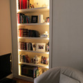 Libreria retroilluminata