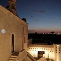 Luce per le mura di masseria Pietrasole