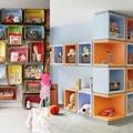 mensole camera da letto dei bambini