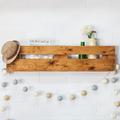 mensole realizzate con pallet riciclati
