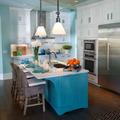 mobili colorati cucina