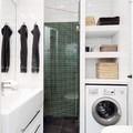 nicchia per  lavatrice