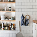 Nicchia salvaspazio in cucina