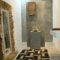 pareti in cemento nel bagno