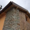 Particolare costruttivo edificio rurale a Sant'Olcese - Genova