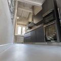 Pavimento cucina: finitura Pastellone 2.0 by Elekta