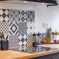 Piastrelle cucina decorate