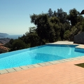 Piscina a sfioro Bluespring