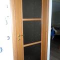 porta con vetro madras