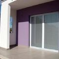 Porta finestra con veneziana integrata in nuova costruzione