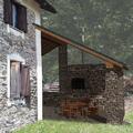 Render - Fotoinserimento tettoia in progetto