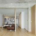 Ristrutturazione con pavimento in legno