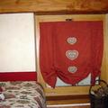 Tenda pacchetto con applicazioni e copriletto in  tessuti Pierre Frey