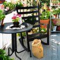terrazzo giardino, orto verticale