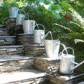 un originale fontana per il giardino