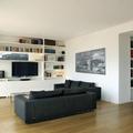 Zona divani libreria