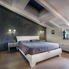 camera da letto sottotetto