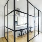 Parete vetrata per separare la cucina dalla zona giorno