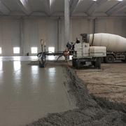 Realizzazione pavimentazione in cemento industriale con macchina ''laserscreed''