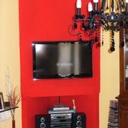 Progetto di Creazione in cartongesso mobile porta tv