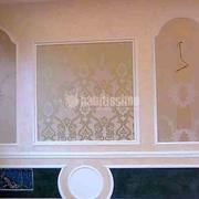 Controsoffittature e decorazione con stucchi  in gesso