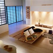 abitazione con arredamento orientale