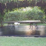 Alllestimento giardino villa roma