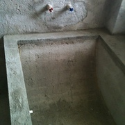 Distributori Kerakoll - progetto Bagno con vasca su misura