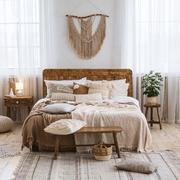 camera da letto stile boho