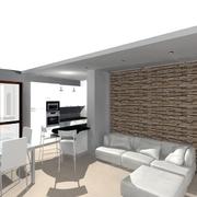 Progetto Ristrutturazione casa render